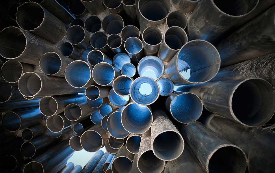 Pipes and hollow section